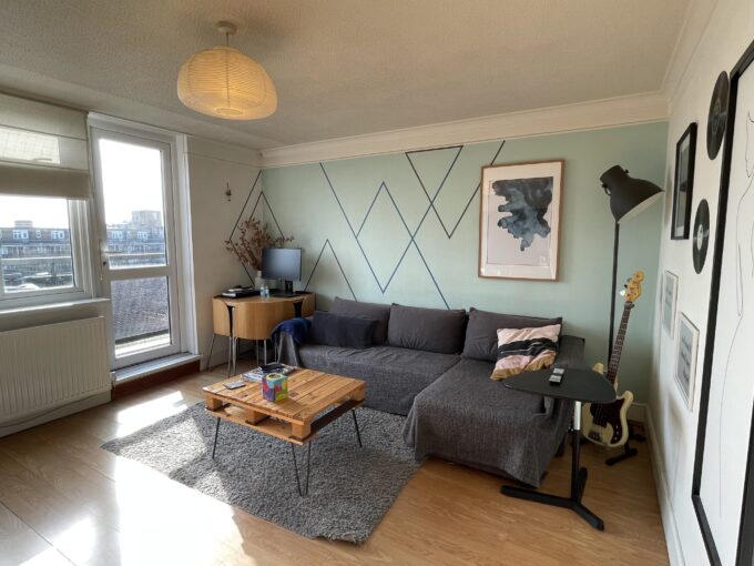 1 Bed flat to rent in Bermondsey